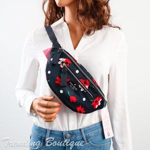 NWT Kate Spade Chelsea Nylon Belt Bag Fanny Pack in Whimsy Floral Print